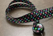 Ribbon Lanyards I Love / BooJee Ribbons do more than hold your ID, they add style and whimsy to any outfit. / by BooJee Beads