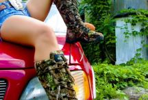 Hot Pink and Camo / Girls with Guns... and fishing rods and bows and Trucks. / by Brooke McGee