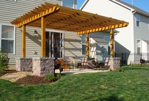 Pergolas/Lanscaping / by A Powers