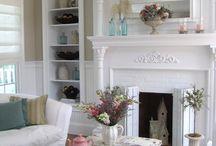 *Fireplaces... / by Sandra Smith