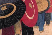 Ukiyo-e, Sumi-e and other japanese paintings or drawings / 浮世絵 / by Remi Komikku