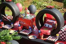 Lightening McQueen party / by Toni Williams