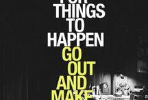 Inspiration / Keep on, keepin' on. / by Ohio University Upward Bound