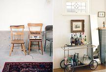 Desperately Seeking Bar Cart / by Klc McConnell