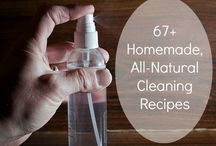 natural cleaning & living / by Daniele @ Domestic Serenity