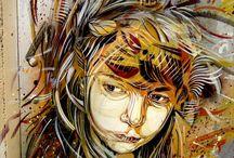 ART:  STREETart / Amazing Artists Around the World. / by Laura Bell