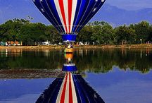 Hot air balloons / by Luis
