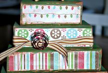 Christmas Wooden Block Projects / Wooden blocks / by MakingArtMatters