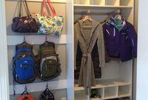 Backpack Storage / by Amanda Miller