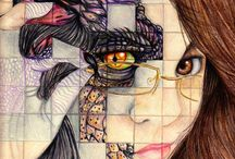 Portriture / GCSE Art / by Esmee Turlej