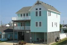 Summer Vacation  / Outer Banks beach houses / by Laura Watkins