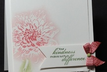 Blooming with Kindness Cards SU / by Patricia Lemont