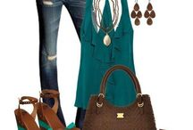 clothes & accessories / by Heather Bigbee