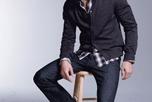 Men's Fashion and Styles / Styling men  / by Lana Fuller
