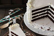 cakes/ deserts / by Ashley Spencer