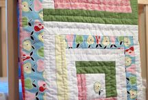 Log Cabin Quilts / by Kris Riddle