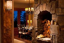 Interior Design - Fireplaces / by MARIE Dunn