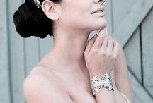 Kleinfeld Bridal Headpieces / by DesireeMMondesir.com