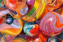 HaVe You SeEn My MaRBleS? / All sorts of variations of colors.... / by Colleen Markham Gunn
