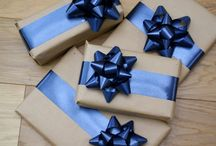 Wrap it up / Parcel, gift and present wrapping, DIY style  / by Vicki Higham