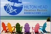 BEACH ME - Hilton Head Vacation Rentals / We've been helping our clients create vacation memories on Hilton Head Island since 1979! Call us at 800-BEACH-ME (800-232-2463) to GET BEACHED!  / by HiltonHead VacationRentals