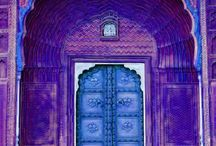 "Dashing Doors  / ""The doors we open and close each day decide the lives we live.""  ~ Flora Whittemore / by Anky Patel"