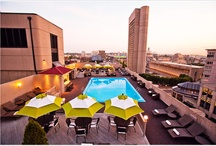 "Roof Top Pool ""RTP"" / Boston's Award Winning Roof Top Pool / by Colonnade Boston"