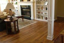 hardwood floors / by Heather Burnette
