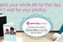 Same Day Pickup / Capture, Create & Collect! Get your photo products and gifts in as little as an hour  Prints * Photo Cards * Folded Cards * Calendars * Posters * Photo Books * Photo Banners * Scrapbook Pages * Custom Photo CDs * And More / by Photo By Walgreens