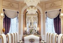 Elegant Dining Rooms / 15 pins per day...total pins! / by marie fricchione