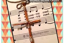 Guitar String Cross / by BelaSi Boutique