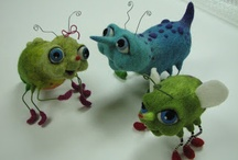 Fantastic Felting - wet/ needle/ felt / by Tracey Lague-Solow