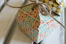 StampinUp envelope punch board / by Aletta Heij