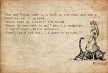 Alice in Wonderland / by Bronwyn Berg