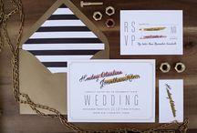 Invitation Inspirations / by Ashley Thunder Events