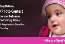 Baby Photo Contest India / Register Your Baby for Baby Photo Contest in India and Win Prices / by Crispy Codes