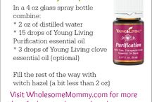 Young Living Essential Oils / by Lori Sawyer