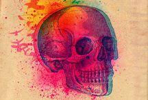 skulls / by Elaine Barbosa