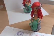 Little mermaid Ariel (Mala sirena) / by Figurice Za Torte