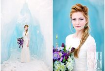 Here Comes The Bride / Bridal & Engagement Photo Shoots at the Ice Castles / by Ice Castles