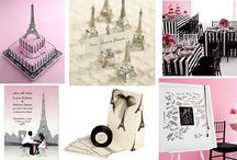 Parisian Themed Inspiration Borad by Crystal Occasions / by Crystal Occasions