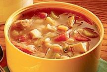 Soups / by Kristen Coalman