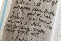 Words / by Amanda B. Reckonedwith