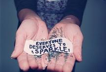 sparkles makes me happy. / by Lizzie Parris