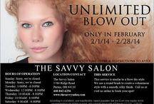 Deals and Promotions / by The Savvy Salon