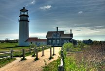 Lighthouses on Cape Cod / We have many lighthouses that grace our peninsula.  / by Captain Freeman Inn