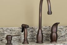 Bathroom & Kitchen Faucets / Kitchen and Bath sink faucets from traditional to contemporary.   Perfect for new construction or remodel. / by Signature Hardware