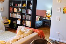 Studio apartment / Studio apartment ideas / by Caroline Garland
