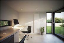 Office / Garden office/office inspiration.  / by Jack Design Ltd