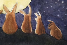 """Rabbit, rabbit, rabbit! / My freshman English teacher in HS, Mrs. Pilon, taught this to me. """"Rabbit, rabbit, rabbit"""" is a common British superstition. The most common modern version states that if a person says """"rabbit"""" or """"rabbit, rabbit, rabbit"""" upon waking on the first day of each new month, they will receive good luck for the duration of that month. In the U.S., the tradition is especially common in Nantucket, Cape Cod, other Massachusetts towns, and throughout Vermont. / by Write 
